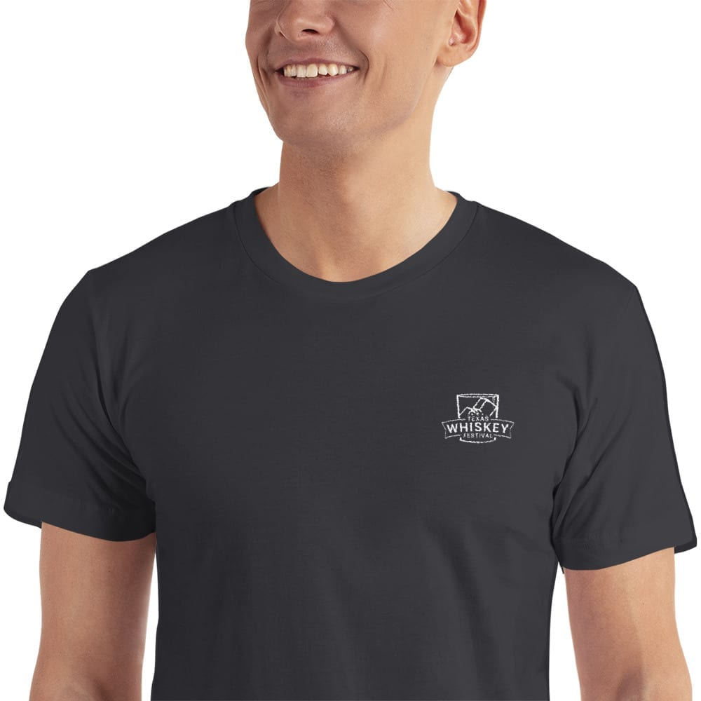 c74b79301a8 Texas Whiskey Festival Embroidered T-Shirt