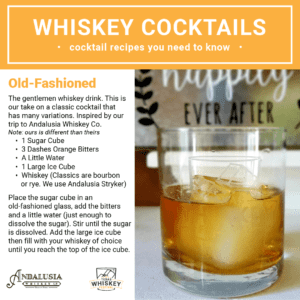 Old-Fashioned | Whiskey Cocktails | Texas Whiskey Festival